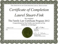 Family Law Certificate